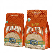 Eco-Farmed Short Grain Brown Rice 2 Lbs
